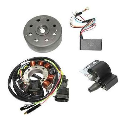 142138 ALLUMAGE SCOOT KRD ANALOGIQUE ROTOR EXTERNE POUR PIAGGIO 50 TYPHOON, NRG, ZIP, FLY, LIBERTY, VESPA LX xxx Info