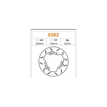 Disque de frein FE.S362 Derbi 50 Senda SM DRD (Double disque) 2002 (vendu a l'unité)