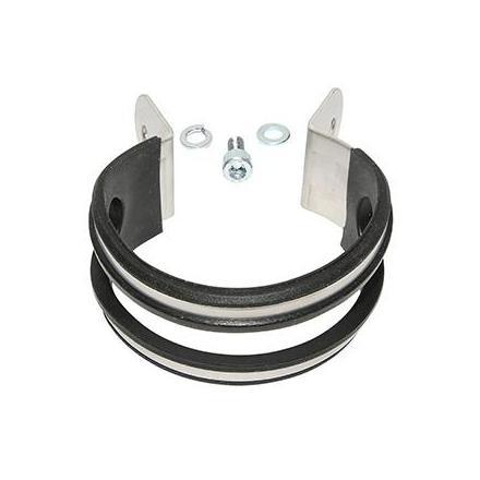 13854 COLLIER DE SILENCIEUX SCOOTER LEOVINCE TT (DIAM 60 mm) (REF 304051501R) xxx Info LEOVINCE