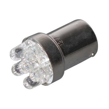 28740 AMPOULE-LAMPE 12V A LEDS 10W CULOT BA15S ORANGE (CLIGNOTANT) (VENDU A L'UNITE) -REPLAY- xxx Info REPLAY