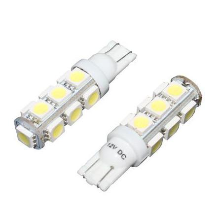 28773 AMPOULE-LAMPE 12V A LEDS 10W CULOT W2,1x9,5D WEDGE BLANC (CLIGNOTANT) (LA PAIRE) -P2R- xxx Info P2R (Motorisé)