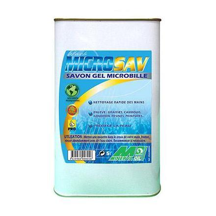 28792 SAVON MAIN MINERVA GRANULEUX-MICROBILLES (5 L) xxx Info MINERVA OIL