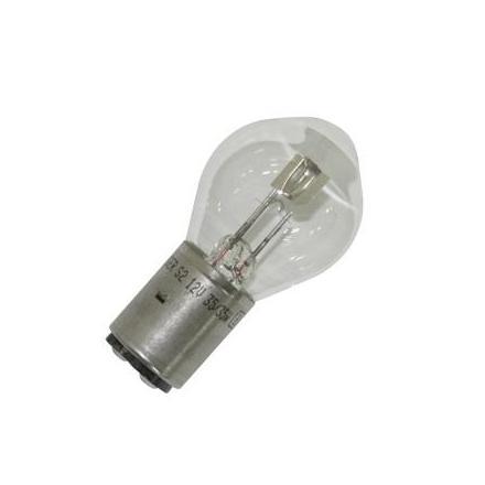 19094 AMPOULE-LAMPE 12V 35-35W NORME S2 CULOT BA20D STANDARD BLANC (PROJECTEUR) (VENDU A L'UNITE) -FLOSSER- xxx Info FLOSSER
