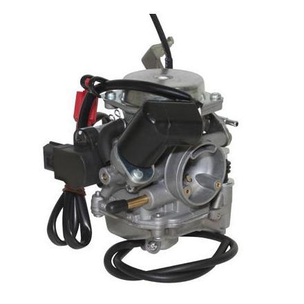 25520 CARBURATEUR MAXISCOOTER ADAPTABLE 125 TYPE DELLORTO (ORIGINE TK) (DIAM 24mm) -QUALITE PREMIUM- -P2R- xxx Info P2R (Motor