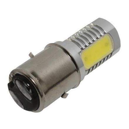 25595 AMPOULE-LAMPE 12V A LEDS 3.5W 156 LUMENS CULOT BA20D ECLAIRAGE BLANC (PROJECTEUR) (VENDU A L'UNITE) -P2R- xxx Info P2R (M