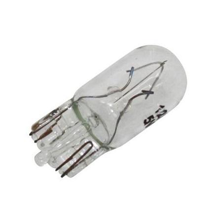 24244 AMPOULE-LAMPE 12V 5W NORME T10 CULOT W2,1x9,5D WEDGE STANDARD BLANC (CLIGNOTANT) (BOITE DE 10) -P2R- xxx Info P2R (Motor
