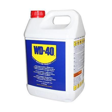 37097 LUBRIFIANT WD-40 MULTIFONCTIONS (BIDON 5L) xxx Info WD-40