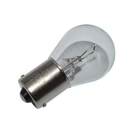 37359 AMPOULE-LAMPE 12V 21W NORME P21W CULOT BA15S GRAISSEUR BLANC (CLIGNOTANT OU STOP) (VENDU A L UNITE) -FLOSSER- xxx Info FL