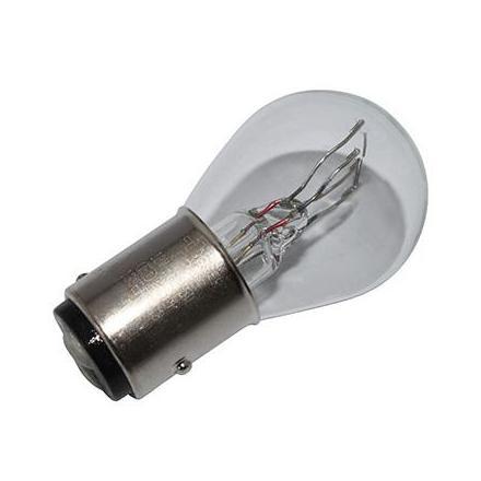 37354 AMPOULE-LAMPE 12V 21-5W NORME P21-5W CULOT BAY15D BLANC (FEU POSITION + STOP) (VENDU A L'UNITE) -FLOSSER- xxx Info FLOSSE