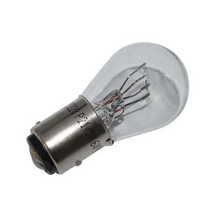 37353 AMPOULE-LAMPE 6V 21-5W NORME P21-5W CULOT BAY15D BLANC (FEU POSITION + STOP) (VENDU A L'UNITE) -FLOSSER- xxx Info FLOSSE