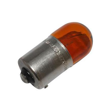 37343 AMPOULE-LAMPE 12V 10W NORME RY10W CULOT BAU15S GRAISSEUR ORANGE (FEU DE POSITION) (ERGOT DECALE) (VENDU A L UNITE) -FLOSS