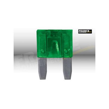 Fusible plat / miniature 30 Ampères (unité)