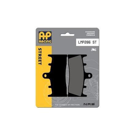 LMP286ST Plaquettes de freins AP RACING LMP286ST Standard Organique Avant/Arrière Plaquettes de frein AP RACING