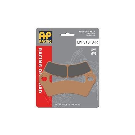 LMP546ORR Plaquettes de freins AP RACING LMP546ORR Off-Road MX Racing Avant/Arrière Plaquettes de frein AP RACING | Fp-moto.co