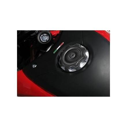 PR08.046 Protège bouchon de réservoir pour DUCATI HYPERMOTARD 2007-2014 Format : 81.6x81.6mm. Protège Réservoir OneDesign | Fp
