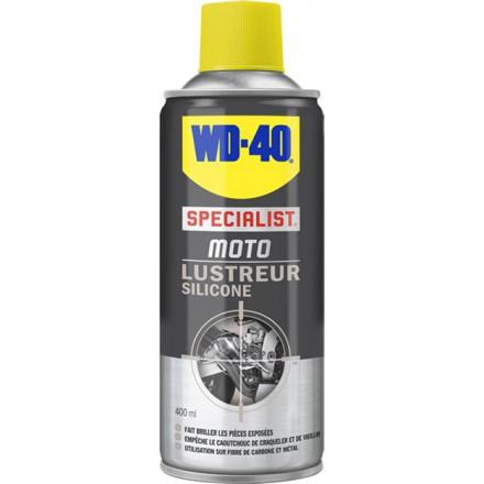 Spray lubrifiant  SPECIALIST MOTO LUSTREUR SILICONE  WD-40 (400ml)