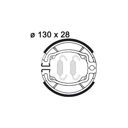 Mâchoire de freins AP RACING LMS805 O 110 x 30