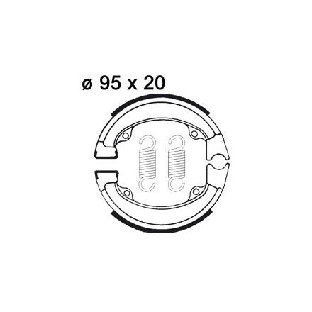 Mâchoire de freins AP RACING LMS801 O 95 x 20