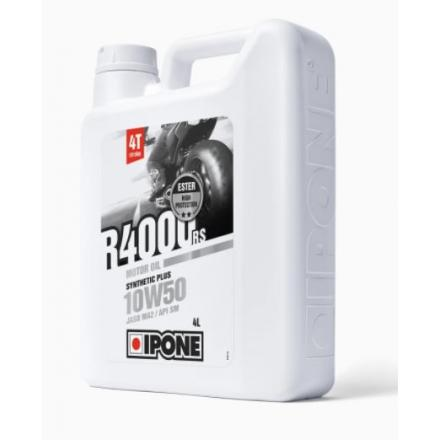 Huile Ipone R4000RS 4 Temps 10W50 (4 litres)
