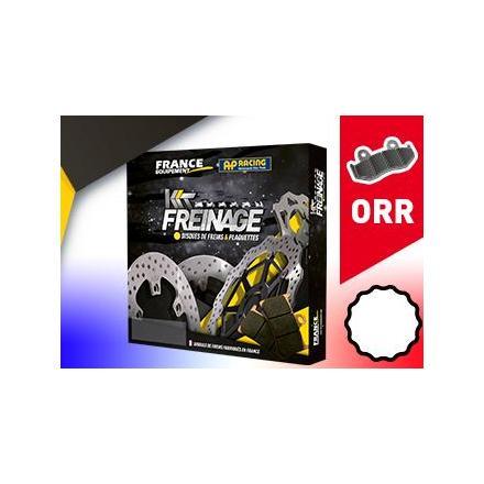 KF.004098 Kit Freinage Arrière Quad YAMAHA 350 YFM R (AH19W) 2007-2009 Disques de frein FRANCE EQUIPEMENT | Fp-moto.com