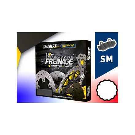 KF.004440 Kit Freinage Avant Scooter PEUGEOT 125 Satelis II i Premium (Etrier AJP) 2012-2012 Disques de frein FRANCE EQUIPEMENT