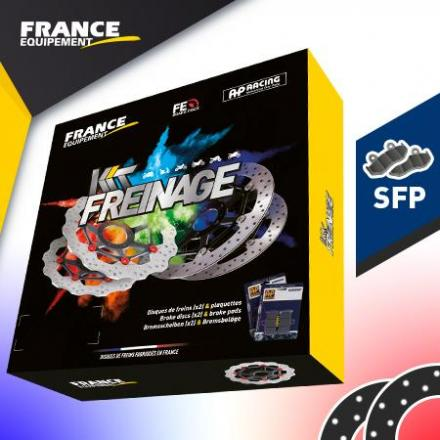KF.008372 Kit Freinage FRANCE EQUIPEMENT - AP RACING KF.008372 Disques de frein FRANCE EQUIPEMENT   | Fp-moto.com