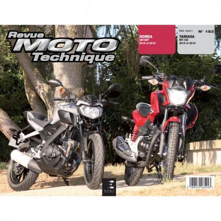 Revue Moto Technique RMT 183 YAMAHA MT 125 (2015 à 2016) + HONDA CB 125 (2015 à 2016)