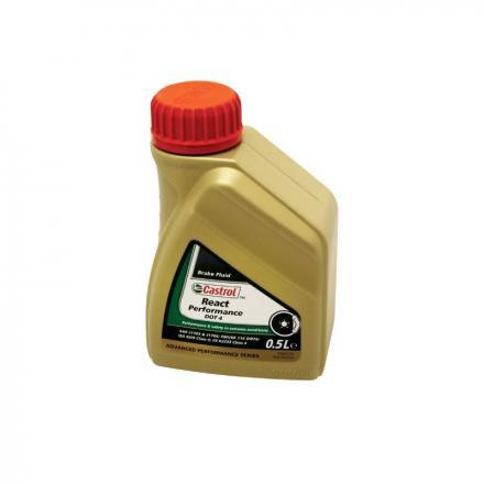 150334 LIQUIDE DE FREIN CASTROL DOT 4 REACT PERFORMANCE (500 ml) 100% SYNTHETIQUE Lubrifiants et nettoyants | Fp-moto.com g