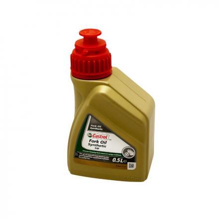 150344 HUILE DE FOURCHE-SUSPENSION CASTROL 5W SYNTHETIC FORK OIL (500 ml) 100% SYNTHETIQUE Lubrifiants et nettoyants | Fp