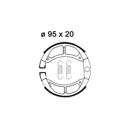Mâchoire de freins AP RACING LMS905 O 95 x 20