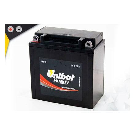 UCB9B-FA Batterie Unibat CB9B-FA - Scellés en Usine. (CBTX9A-BS - CBTX9ABS) YB9-B / YB9B / CB9B / BB9B / FB9B / 9B/ 9ABS / BTX9