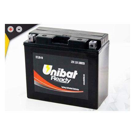 UCT12B-FA Batterie Unibat CT12B-FA - Scellés en Usine. (YT12B-BS / YT12BBS / BT12B-4 / BT12B4 / FT12B4 / CT12B4 / 12B4) LxlxH :