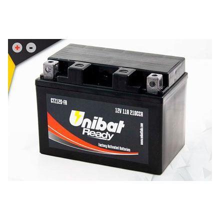 UCTZ12S-FA Batterie Unibat CTZ12S-FA - Scellés en Usine. (YTZ12S / BTZ12S / FTZ12S / CTZ12S / 12S) LxlxH : 150x87x110 [ + - ]