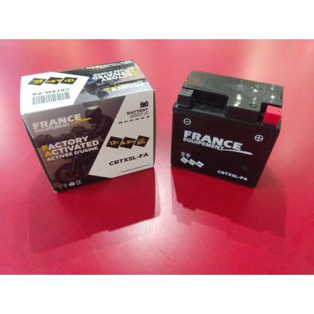 CBTX5L-FA Batterie FE YTX5L SLA (YTX5L-BS / YTX5LBS / BTX5L / FBTX5L / 5LBS) Batterie Factory Activated LxlxH : 114x71x106 [ - +