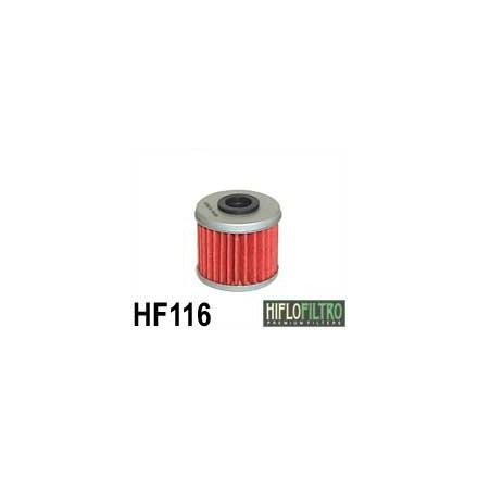 HF116 Filtre à huile HIFLOFILTRO HF116 POUR HONDA CRF 250 R, CRF 450 R-HM CRE 250-450-HUSQVARNA TC 250, TE 250 (38x36mm) HIFLOFI