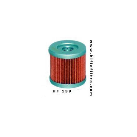 HF139 Filtre à huile HIFLOFILTRO HF139 POUR SUZUKI 400 DR-Z 2000-2010-KAWASAKI 400 KFX 2002-2006 (44x44mm) HIFLOFILTRO Filtre à