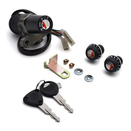 Contacteur à clé 50 à Boite Adapt. Derbi 50 Senda Sm (Avec Serrure De Selle) -Selection P2R-