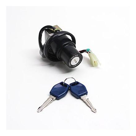 Contacteur à clé 50 à Boite Adapt. Mbk 50 X-Power 1997>2002-Yamaha 50 Tzr 1997>2002 (Seul) -Selection P2R-