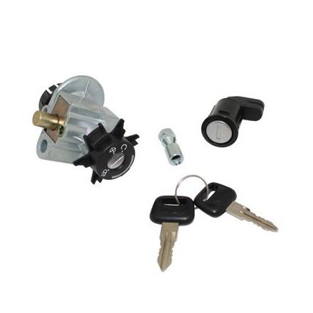 Contacteur à clé Scoot adapt.Peugeot 50 Vivacity 4T (Avec Serrure De Selle) -Selection P2R-