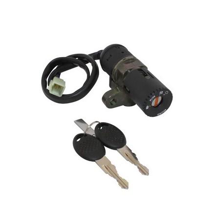 Contacteur à clé 50 à Boite Adapt. Mbk 50 X-Power 2003>-Yamaha 50 Tzr 2003> (Seul) -Selection P2R-