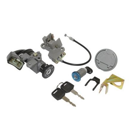 Contacteur à clé Scoot adapt.Scoot 50 Chinois 4T Gy6, 139Qmb 10 Pouces-Baotian 50 Bt49Qt 4T 10 Pouces 2006>-Peugeot 50 V-Clic 4