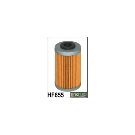 HF655 Filtre à huile HIFLOFILTRO HF655 POUR KTM 250 EXC 2000-2012, 450 EXC 2012-2014, 450 SMR 2013>, 650 SUPERMOTO 2007-,HUSQVAR