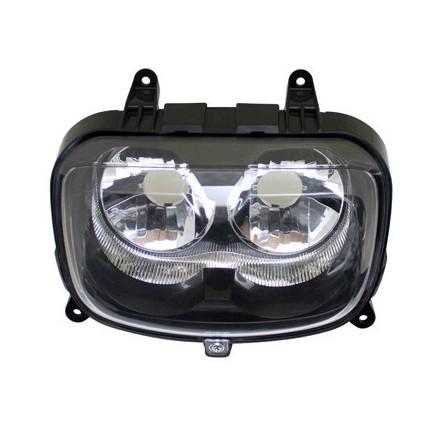 Optique Scoot adapt. MBK 50 Booster 2004>-Yamaha 50 Bws 2004> -Homologue Ce- (Sans Porte-Ampoule) -Selection P2R-