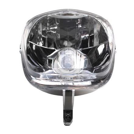 Optique Scoot adapt. MBK 50 Stunt 2000>2003-Yamaha 50 Slider 2000>2003 -Homologue Ce- (Equipe Lampe 12V 35-35W Ba20S) -Selecti