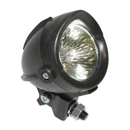 Feu Halogene Orientable Diam 57 Noir 35W Support Acier **
