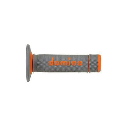 Revêtements poignée Domino cross Bi-Composants Gris / Orange