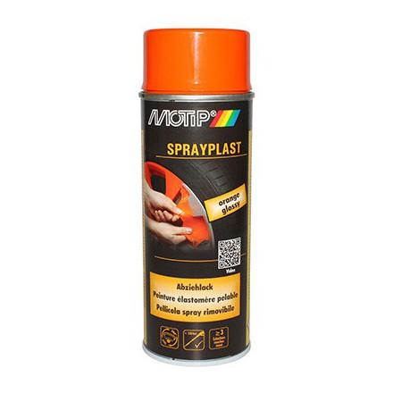 Bombe de peinture Motip Sprayplast Orange Brillant (spray 400ml)