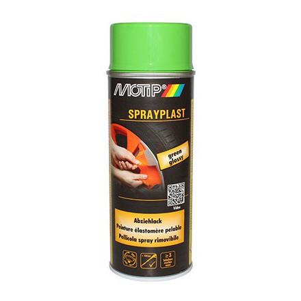 Bombe de peinture Motip Sprayplast VertBrillant (spray 400ml)