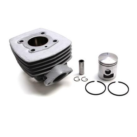 Cylindre Cyclo adaptable Peugeot 103 Air (Bride+Ecrou) -Alu Nikasil Airsal-