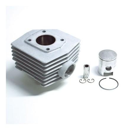Cylindre Cyclo adaptable MBK 51 Air T6 -Alu Nikasil Airsal 6 Transferts-